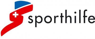 "Logo des Sponsors ""Sporthilfe"""